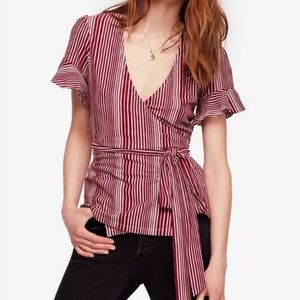 FREE PEOPLE Wrapped Around My Finger Top NWT A6-10